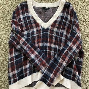 Banana Republic Plaid Sweater